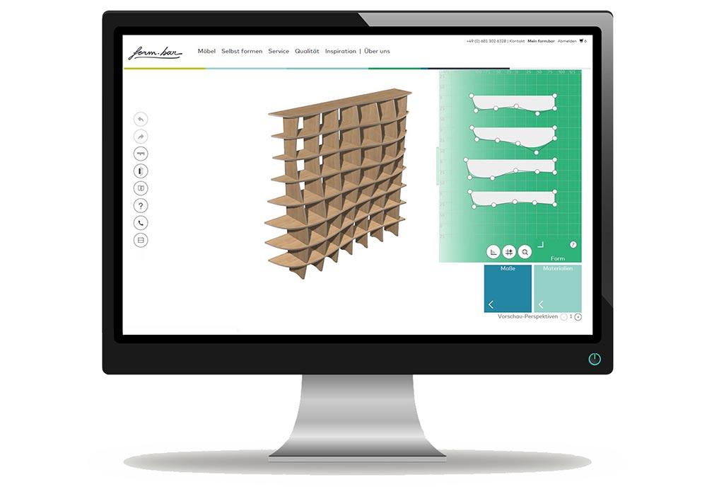 form.bar Online Konfiguration